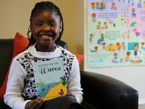 Young writer makes publishing debut